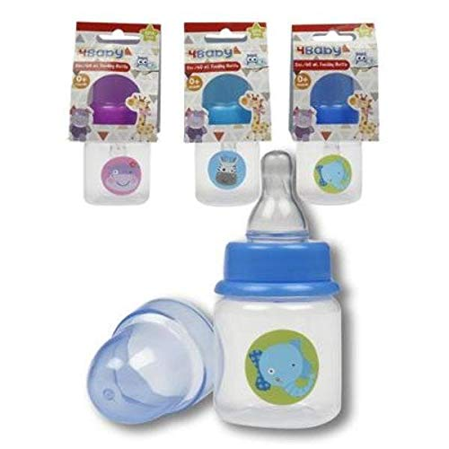 Save %21 Now! DDI 2326780 2 oz Baby Bottle44; 6 Assorted Color - Case of 48