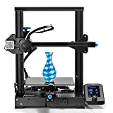 CungSu Official Creality Ender 3 V2 3D Printer with Silent Mainboard/Meanwell Power Supply and New User Interface Print