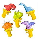 YUDIZWS Dinosaurier Cartoon Kinder Wassergewehrspielzeug, Wasserpistolen Wert Packung Niedliche Tier...