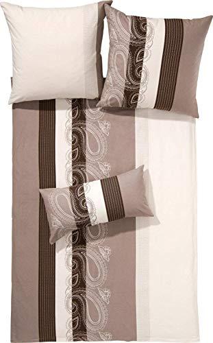 Janine Design Mako-Satin Bettwäsche Palermo 31015-07 1 Bettbezug 135 x 200 cm + 1 Kissenbezug 80 x 80 cm