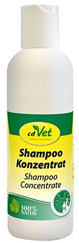 cdVet Naturprodukte Shampoo Konzentrat 200 ml - Hund, Pferd - Pflegeshampoo - empfindliche Haut - pflegt + reinigt das Fell - beugt Schuppenbildung vor - verleiht dem Fell Glanz - nachfettend -