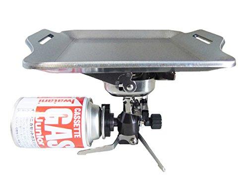 イワタニ カセットガスジュニアバーナー 対応 グリルプレート 板厚4.5mm (カセットガス・バーナー本体は商品に含まれません)