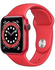 AppleWatch Series6 (GPS, 40-mm) kast van PRODUCT(RED) aluminium - PRODUCT(RED) sportbandje
