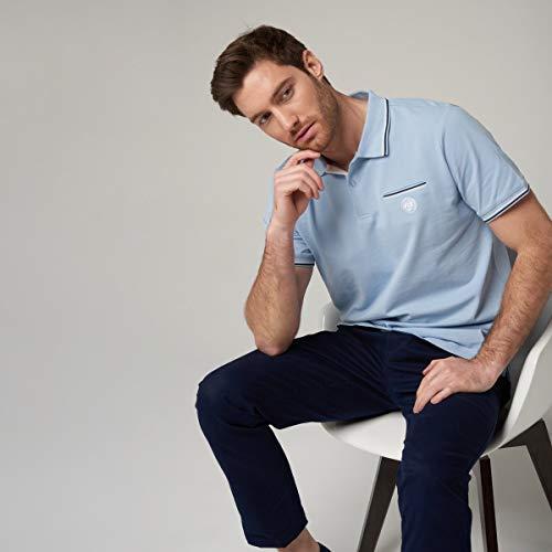 ROLAND GARROS - Polo en Coton piqué avec Logo pour...