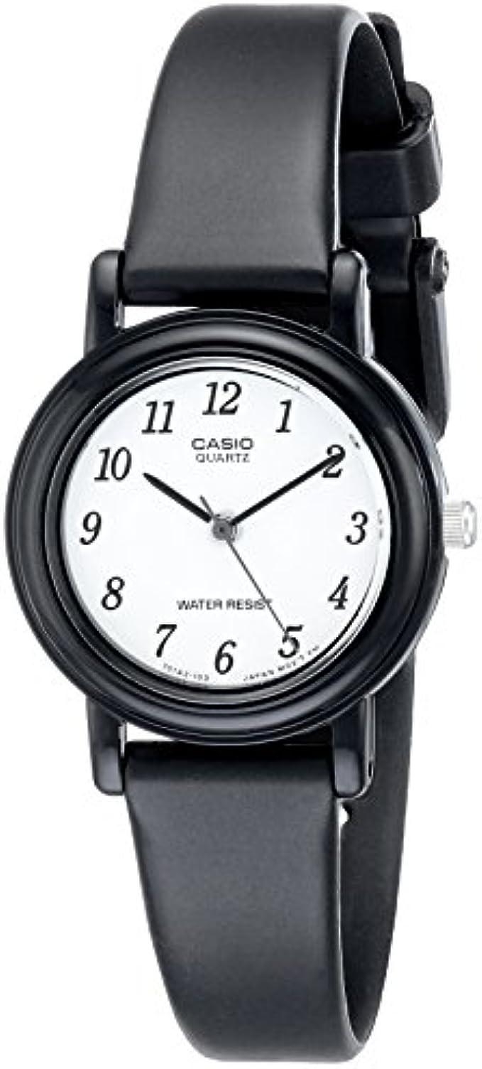 Casio Women's LQ139B-1B Classic Round Analog Watch
