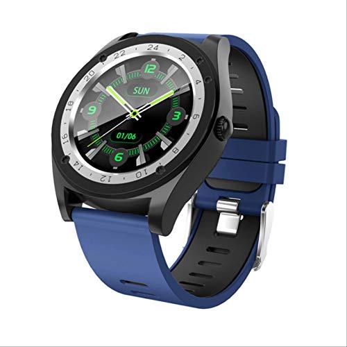 Leisont - Reloj Inteligente Deportivo para Hombres y Mujeres smartwatch Fitness Tracker Pulsera presión Arterial M
