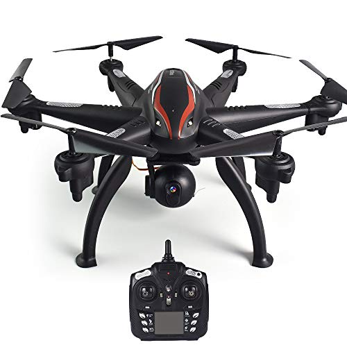 Goolsky L100 Drone 1080P 5G WiFi FPV Wide-Angle Camera 6-axis GPS RC Drone Auto Follow RC Hexacopter for Adults Kids