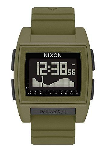 Nixon Reloj Hombre de Digital con Correa en Silicona A1212-1085-00