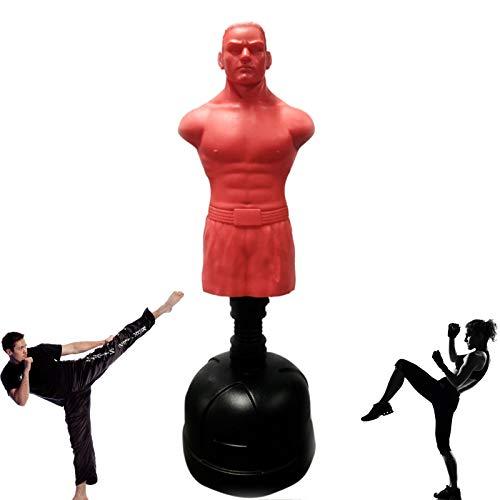 Bolsa De Arena De Boxeo De Silicona para El Cuerpo, Maniquí De Entrenamiento De Vaso Interior para Adultos Y Niños, Bolsa De Arena Humanoide Vertical Profesional