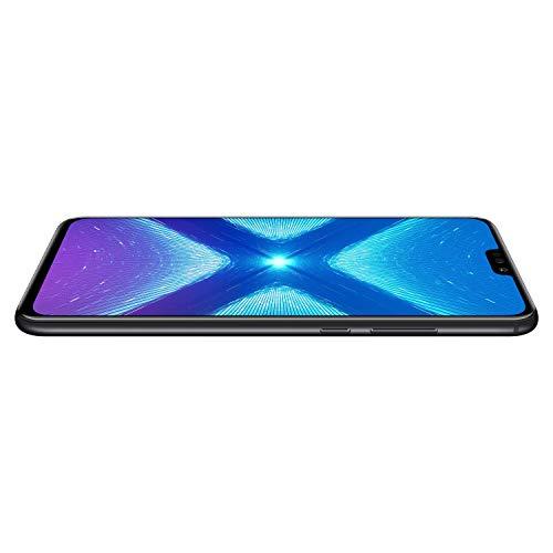 Honor 8X Smartphone débloqué 4G (Ecran : 6,5 pouces - 128 Go - Double Nano Sim - Android 8.1) Noir [Version française]