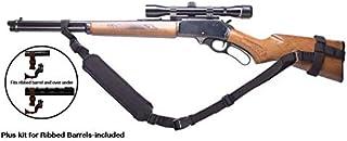 Ez GunsSling Universal Non-Swivel Gunsling For Rifles,Shotguns and Favorite Firearm (K) Black