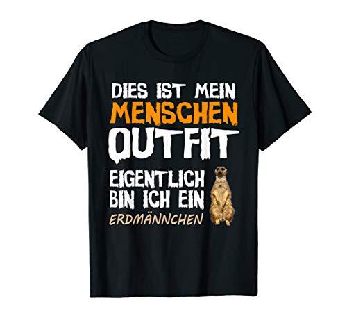 Erdmännchen Halloween Kostüm T-Shirt