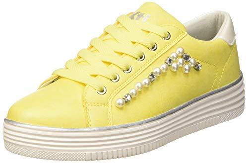 XTI 48894, Zapatillas para Mujer, Amarillo, 40 EU