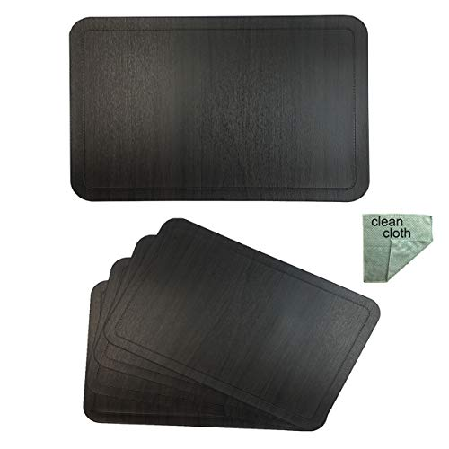 Best placemats for wood table