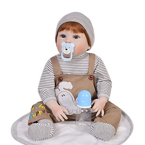 Neugeborene Puppe Augen offen 22