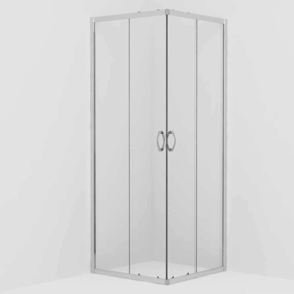 Tidyard Mampara de Ducha con Vidrio de Seguridad 70x70x185 cm ...