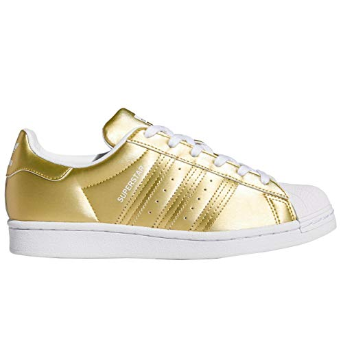 adidas Womens Originals Superstar Metallic Casual Shoes Womens Fy1154 Size 8
