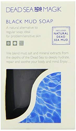 Dead Sea Spa Magik Magic Black Mud Soap 100g - PACK OF 2