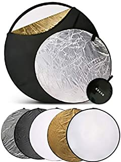 5 in 1 Collapsible Light Reflector Disc Photography 43
