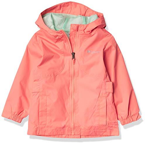 Columbia Girls' Big City Trail Jacket, Salmon, Medium