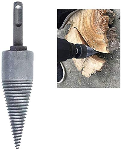 Lowest Prices! Generis Log Splitter Screw Cone Kindling Firewood Splitter Drill Bits for Hand Drill ...