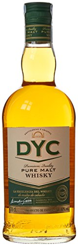 DYC Malta Estuchado Single Malt Whisky, 40% - 700 ml