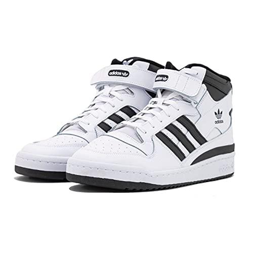 adidas Herren Forum MID Sneaker, FTWR White/core Black/FTWR White, 40 2/3 EU