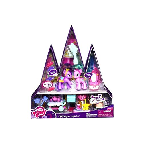 My Little Pony Exclusive Playset Celebration at Canterlot Castle Includes Twilight Sparkle Starbeam Twilight