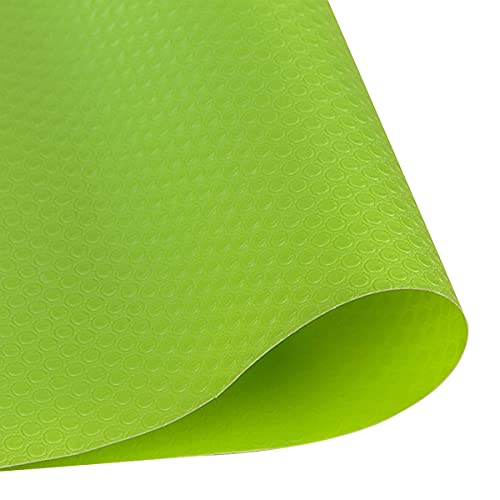 LEISHENT Shelf Liner Easy to Install Washable Oil Resistant Waterproof Cabinet Protection for Refrigerator Liner,Bathroom,Table mat,60cm x 10m