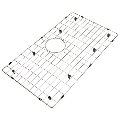 Kitchen Sink Bottom Grid and Sink Protector Grid Stainless Steel, Protective Sink Grid 26 11/16