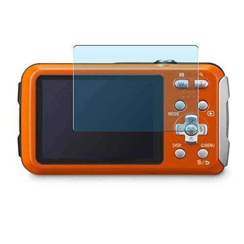 Vaxson 3 Stück Anti Blaulicht Schutzfolie, kompatibel mit Panasonic Lumix DMC-FT30, Displayschutzfolie Anti Blue Light [nicht Panzerglas]