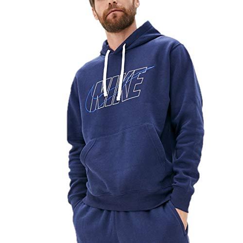 Nike Herren Sportswear Club Trainingsanzug Dunkelblau S