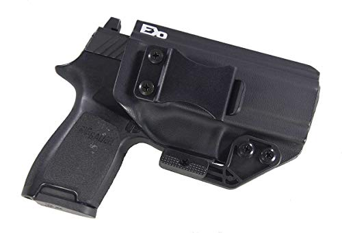 Fierce Defender IWB Kydex Holster Sig P320c The Paladin Series -Made in USA- (Black)