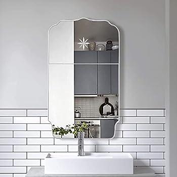 Motini 40 Inch Wall Metal Frame Rectangle Mirror