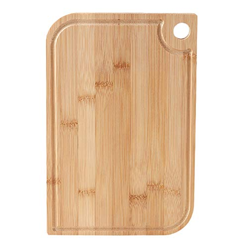 YINAIER Wooden Chopping Boards, Butchers Block,Large Organic Bamboo Cutting Board, Cutting Boards For Kitchen With Juice Groove & Handle Hole, Chopping Board For Meat