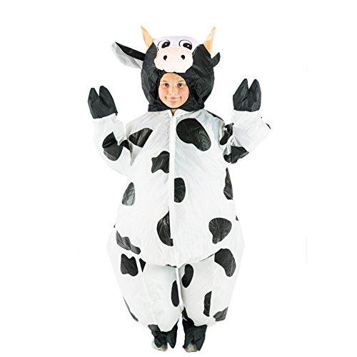 Bodysocks® Costume Gonfiabile da Mucca per Bambini
