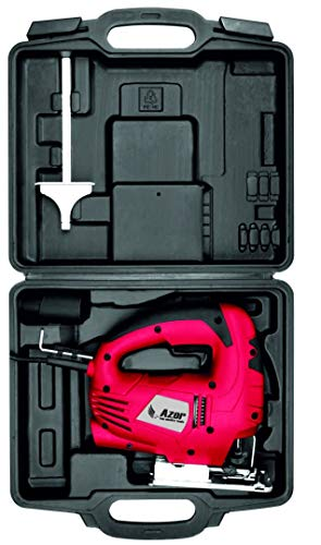 Azor SC-3953 Sierra de Calar con Maletín Y Accesorios, 550 W, 240 V, Rojo