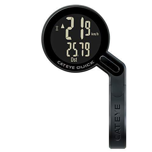 Cateye Computadora Quick Negra Uhr, Black (schwarz), Einheitsgröße