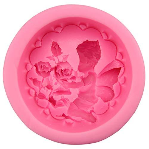 R-WEICHONG Moule à savon en silicone pour décoration de gâteaux