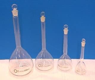 4 Piece Volumetric Flask Set
