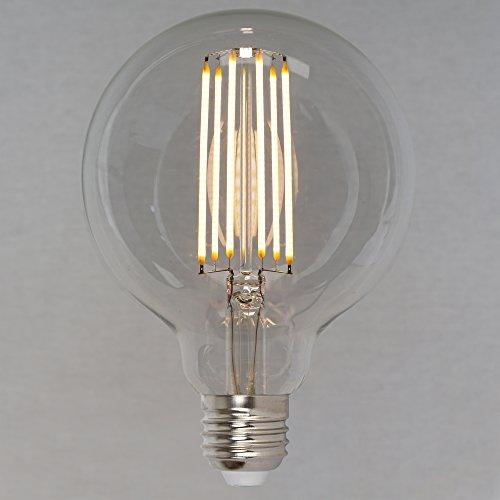 Dimmbares Vintage LED Edison Leuchtmittel 6W (60W) 660lm - Retro Vintage Industriell Stil Glühbirne Globe 95mm 'Squirrel Cage' - The Retro Boutique ®