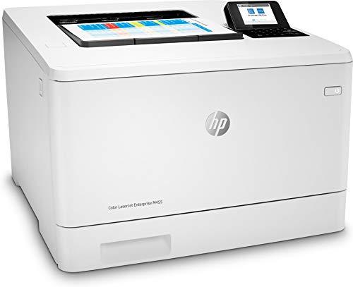 HP Color LaserJet Enterprise M455dn 3PZ95A, Impresora Láser Color, Impresión a Doble Cara Automática, Gigabit Ethernet, USB 2.0, HP Smart App, Pantalla Gráfica en Color, Blanca