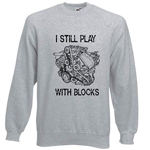 Viper ik nog steeds spelen met Blokken Mechanic's Motor Sweatshirt
