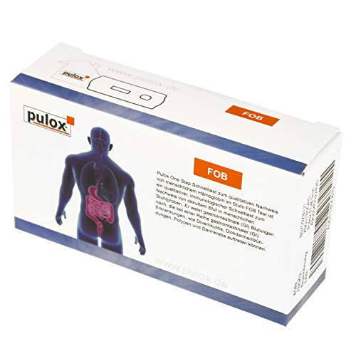 Pulox FOB Darmkrebsvorsorge Self Test - Darmkrebstest zur Früherkennung