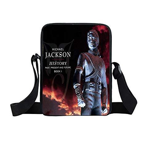 Kinderrucksack Michael Jackson Rucksack Mode Kinder Schultasche Junge Lunch Bag Mädchen Große Kapazität wasserdichte Leinwand Reise Schultasche