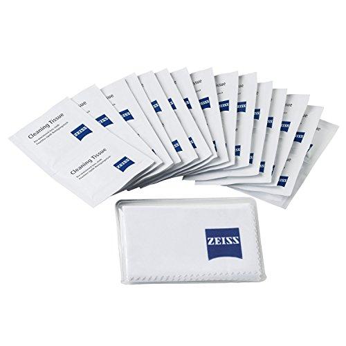 ZEISS Reinigungstücher – Reinigungstücher Set für Objektive, Filter, Brillengläser, Ferngläser und LCD-Displays