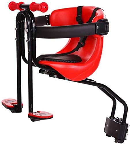 Seggiolino bici universale per bambini, sedile anteriore portatile per bici per bambini 1-4 anni (max 50 kg), per mountain bike City Bike