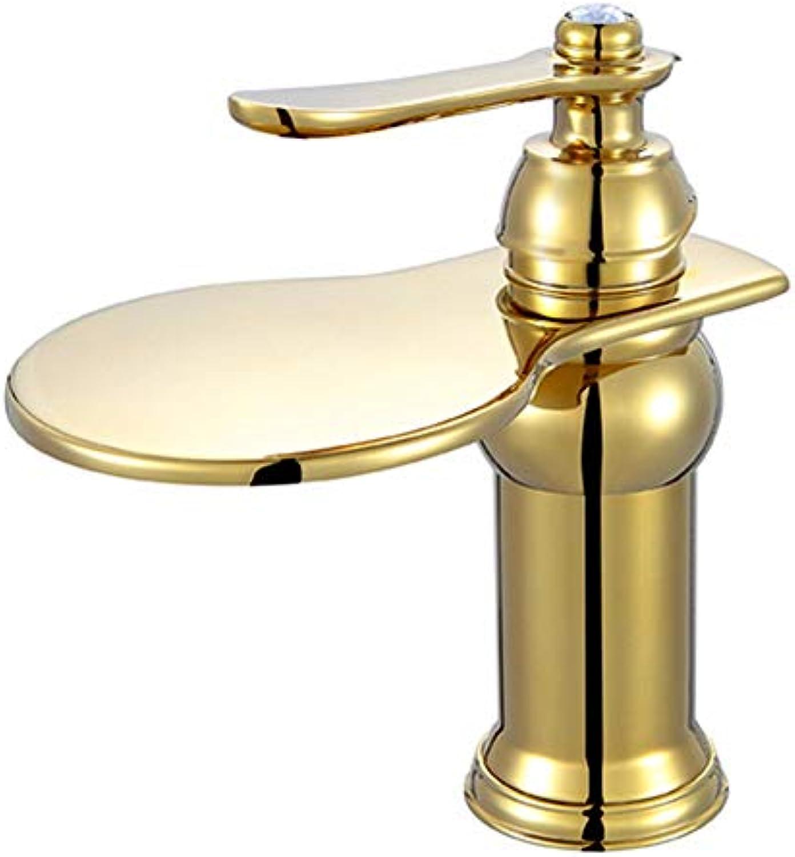 Kupfer Titan Becken Wasserhahn heien und kalten Becken Wasserhahn Becken Wasserhahn