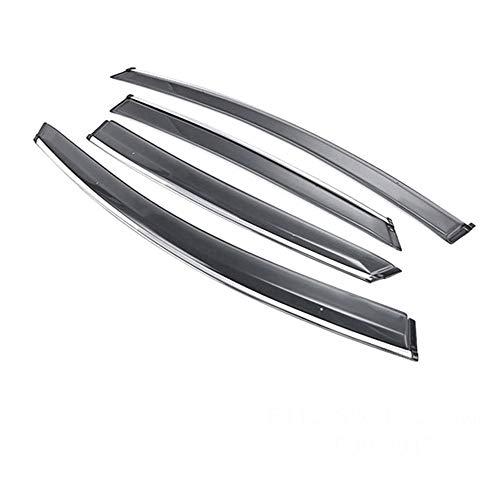 , Voor Auto ABS Styling Venster Zonnekleppen Luifels Schuilplaatsen Regen, Voor Skoda Octavia 2009 2010 2011 2012 2013 Accessoires