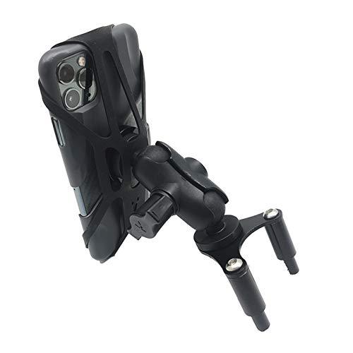 GUOXIAO MEIJUAN Motocicleta USB Teléfono Móvil Cargador Soporte Soporte GPS Navegación Soporte Fit para Ducati 899 959 1199 1299 Panigale 2012-2018 2017 (Color : Phone Holder)
